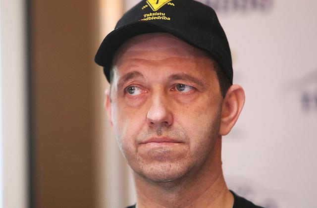 Taksistu arodbiedrības valdes loceklis Ģirts Mazurs
