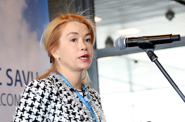 Lidostas valdes priekšsēdētāja Ilona Līce