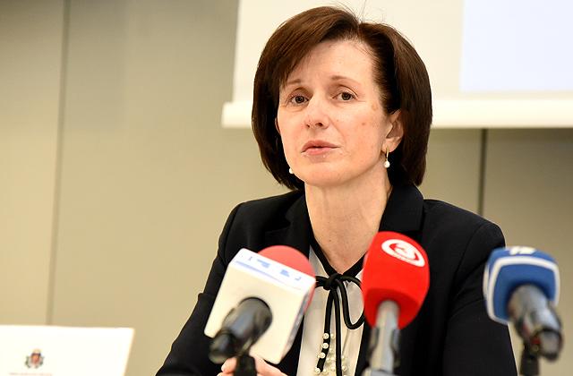 Valsts ieņēmumu dienesta ģenerāldirektore Ilze Cīrule