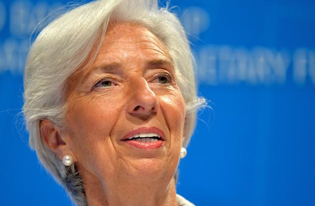 Starptautiskā Valūtas fonda izpilddirektore Kristīne Lagarda