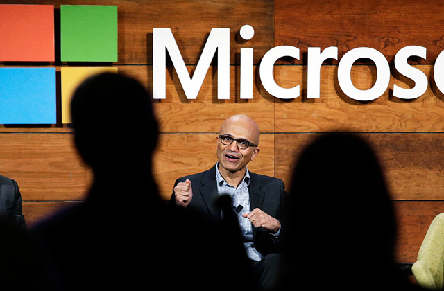 «Microsoft» prezidents Breds Smits