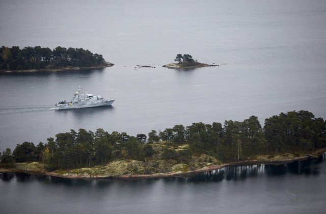 Baltijas jūra pie Stokholmas