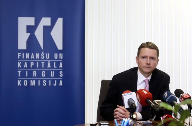 Finanšu un kapitāla tirgus komisijas priekšsēdētājs Pēters Putniņš