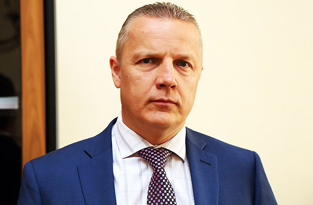 Valsts kases pārvaldnieks Kaspars Āboliņš