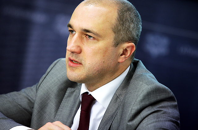 Finanšu ministrijas valsts sekretāra vietnieks Armands Eberhards