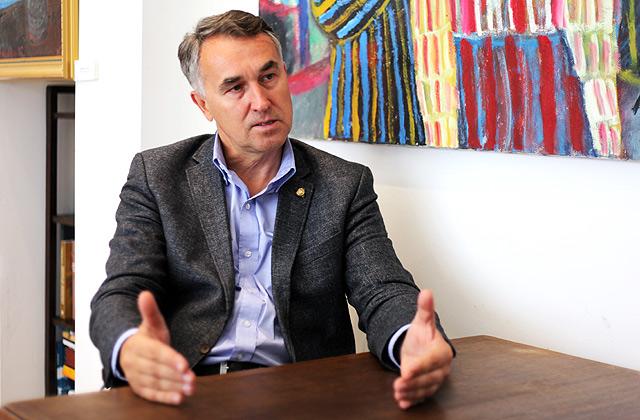Eiropas Parlamenta deputāts no Lietuvas Petrs Auštrevičs