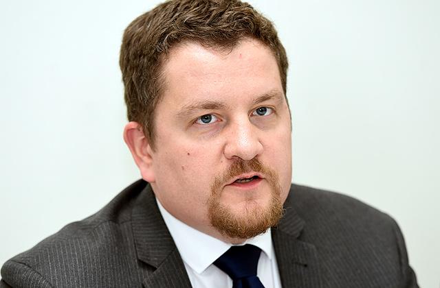 """VAS """"Latvijas gaisa satiksme"""" padomes priekšsēdētājs Dins Merirands"""