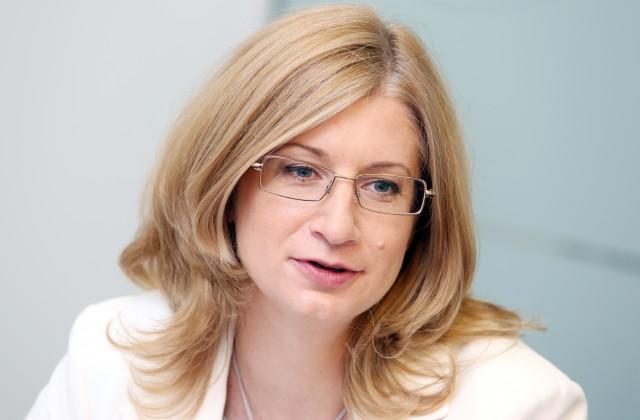 """""""SEB Dzīvības apdrošināšana"""" valdes priekšsēdētāja Kristīne Lomanovska"""
