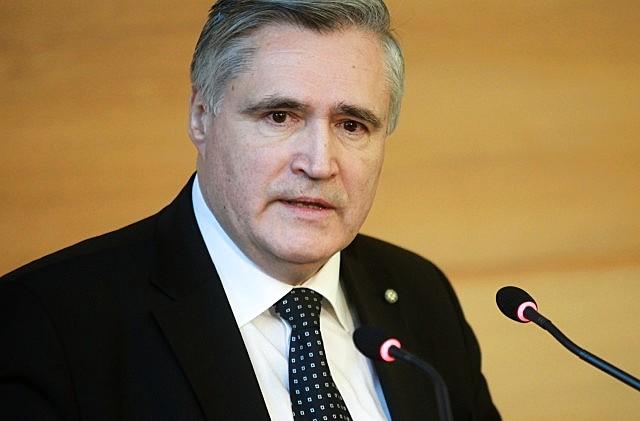 Latvijas Pašvaldību savienības priekšsēdis Andris Jaunsleinis