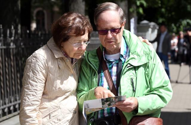 Tūristi Rīgā