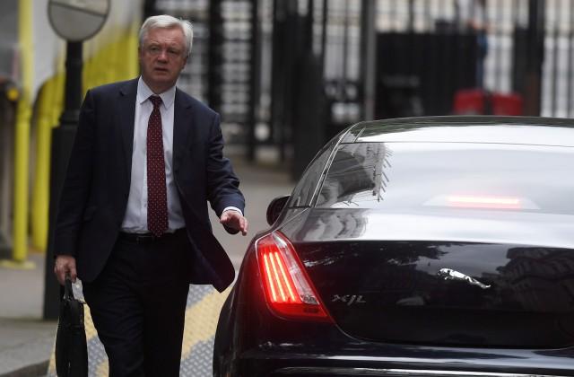 """Breksita"" ministrs Deivids Deiviss Londonā. 29.jūnijs, 2017"