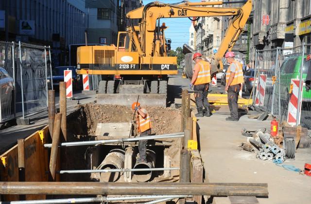 Siltumtrases remontdarbi Brīvības ielā