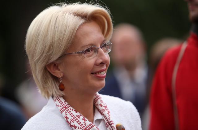 Latvijas Saeimas priekšsēdētāja Ināra Mūrniece