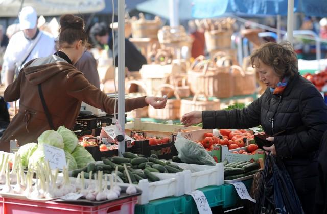 Dārzeņu tirdzniecība Rīgas Centrāltirgū