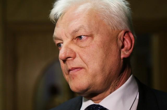 Latvijas Piensaimnieku centrālā savienības valdes priekšsēdētājs Jānis Šolks