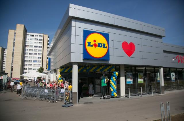 """""""Lidl"""" veikals Lietuvā/Ilustratīvs attēls"""