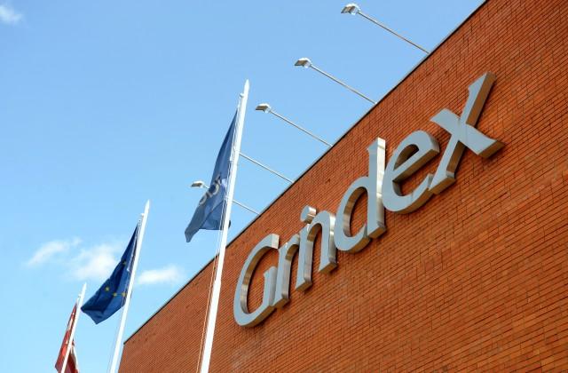 """Farmācijas uzņēmuma AS """"Grindeks"""" logo"""