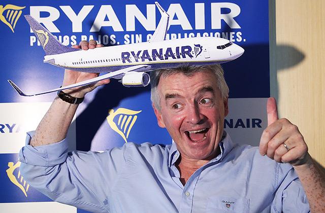 Īrijas zemo cenu aviokompānijas «Ryanair» vadītājs Maikls O'Līrijs