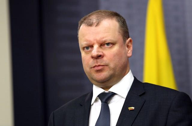 Lietuvas Ministru prezidents Sauļus Skvernelis