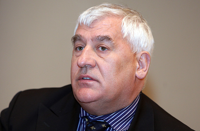 Lauksaimnieku organizāciju sadarbības padomes valdes priekšsēdētājs Edgars Treibergs