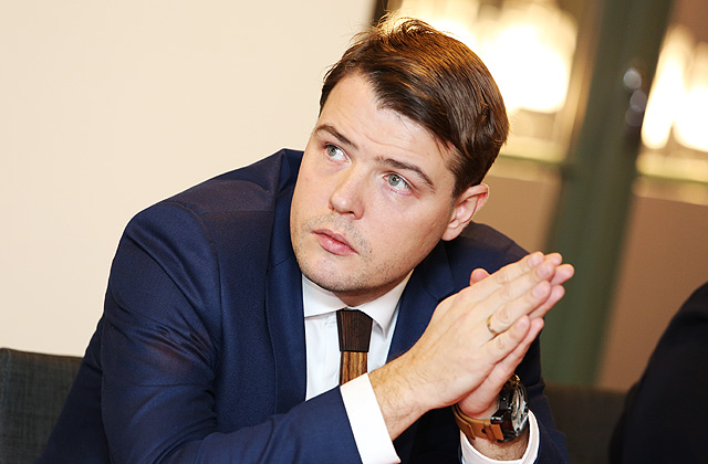 Latvijas Kokrūpniecības federācijas izpilddirektors Kristaps Klauss