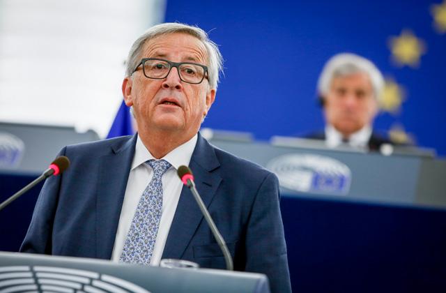 EK prezidents Žans Klods Junkers
