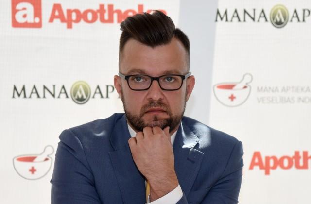 """SIA """"A Aptiekas"""" valdes loceklis Jānis Kūliņš"""