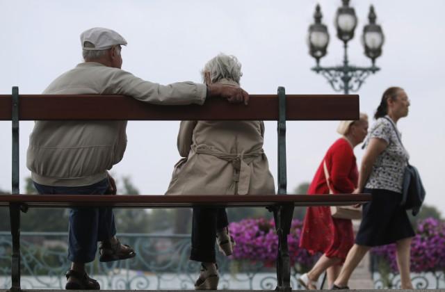 Pensionāru pāris Parīzē (Ilustratīvs foto)