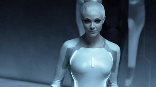"Kadrs no filmas ""Tron: Legacy"""