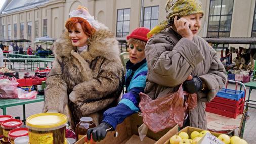 """Dailes teātrī top Blaumaņa komēdijas """"Trīnes grēki"""" iestudējums, kura pirmizrāde paredzēta 16.martā"""