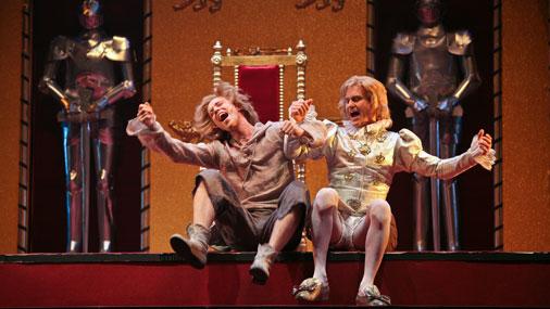 """10.novembrī Nacionālajā teātrī pēdējo reizi tiks spēlēta izrāde """"Princis un ubaga zēns"""""""