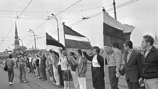 Rīgas centrā patriotisks noskaņojums