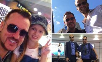 Fotostāsts: Duboka bērni satiekas pēc 5 gadiem Kanādā