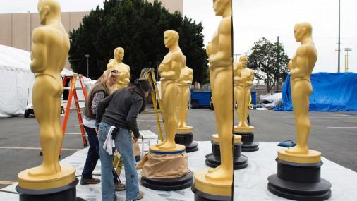 Holivudā notiek gatavošanās «Oskara» balvas ceremonijai
