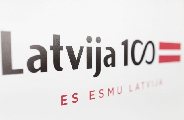 Latvijas valsts simtgade (logo)