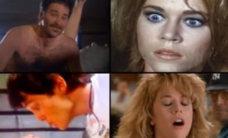 Pieci reālistiskākie Holivudas orgasmi