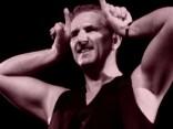 Blūza festivālā pie Vanšu tilta «Tasmānijas velns» - Robs Tognoni
