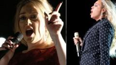 «Grammy» galvenā cīņa būs starp Adeli un Bejonsē