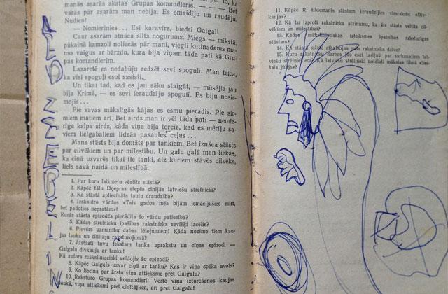 """Grāmatas """"Šūpuļdziesmas pieaugušajiem"""" ilustrācija"""