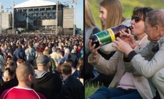 «Bi-2» fani bauda «bezmaksas» koncertu Lucavsalā