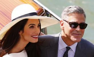 Gribu izskatīties kā Amala vai izgludiniet manam vīrietim ādu kā Klūnijam!