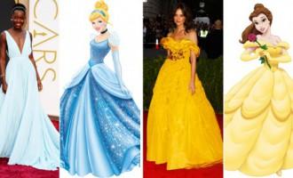 Princešu dežavū: TOP 8 sarkanā paklāja kleitas