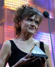 2005. gada labākā sporta skolotāja Astra Kurme.