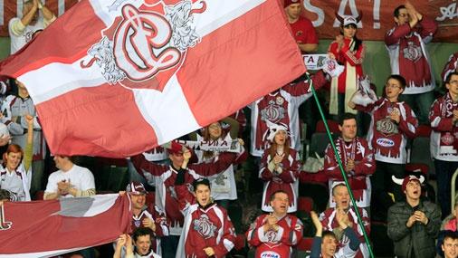 Rīgas ''Dinamo'' līdzjutēji