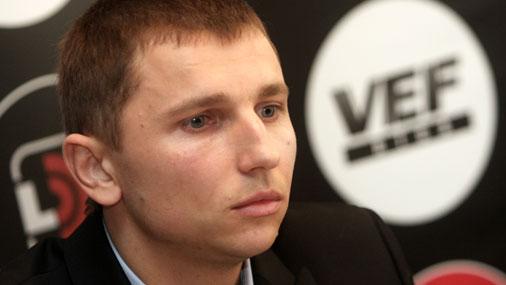 «VEF Rīga» treneris Nikolajs Mazurs