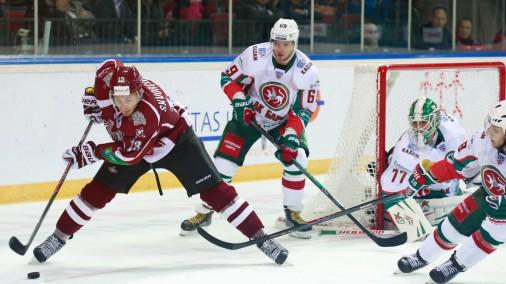 Izgāšanās pirmajā periodā «Dinamo» neļauj izcīnīt LDZ kausu
