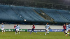 Cauņas atgriešanās spēlē CSKA panāk neizšķirtu pret Mančestras «City»
