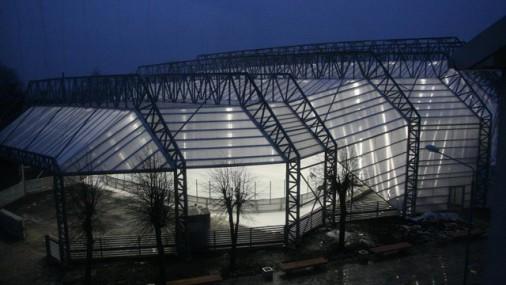 Majoru ledus halle iekļauta starp interesantākajām hokeja hallēm pasaulē