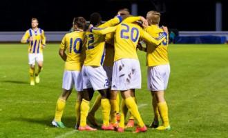 «Ventspils» futbolisti sesto reizi vēsturē triumfē Latvijas čempionātā