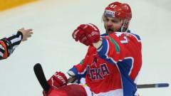 Radulova teicamais sniegums palīdz CSKA gūt uzvaru